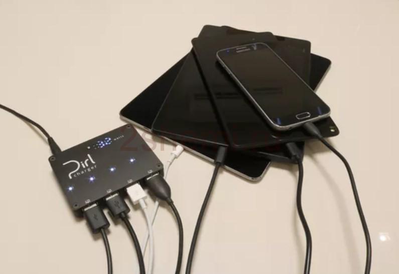 Мощное USB зарядное устройство на 4 порта с Ваттметром