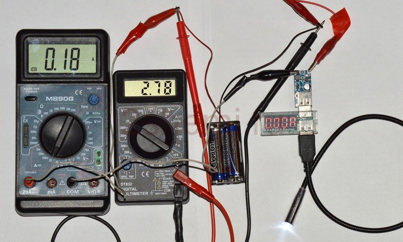 Повышающий преобразователь напряжения для питания устройств через USB-порт