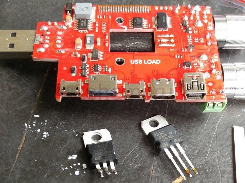 Тестер USB, аккумуляторов и зарядных устройств
