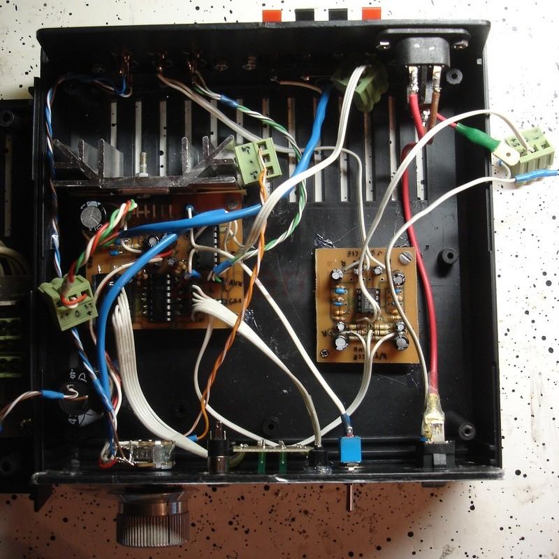 Усилитель мощности с фоно-корректором для винила