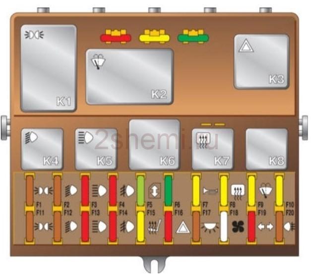 Схема ВАЗ-2112