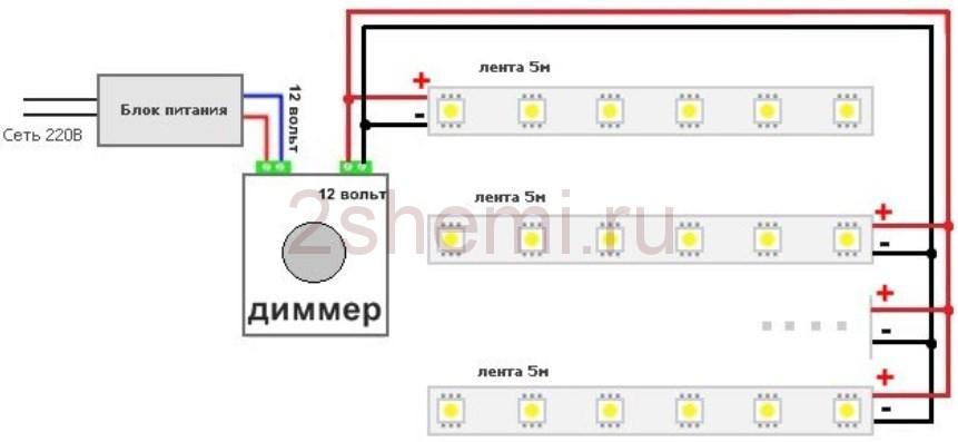Как установить диммер - выключатель с регулятором освещения вместо обычного