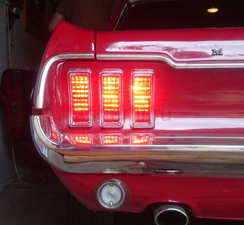 Светодиодные задние фонари для авто своими руками