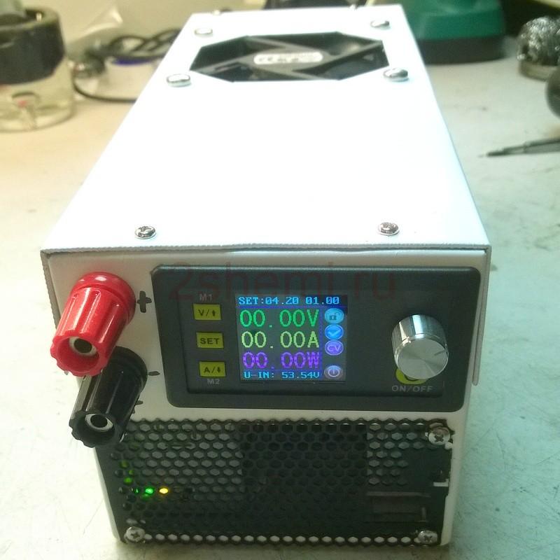 Блок питания на 0-50 Вольт 0-20 Ампер