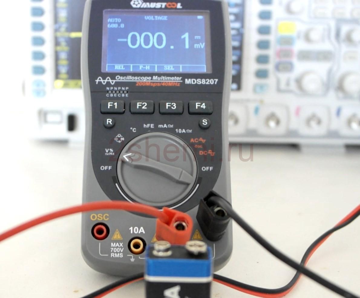 MUSTOOL MDS8207: мультиметр с режимом осциллографа