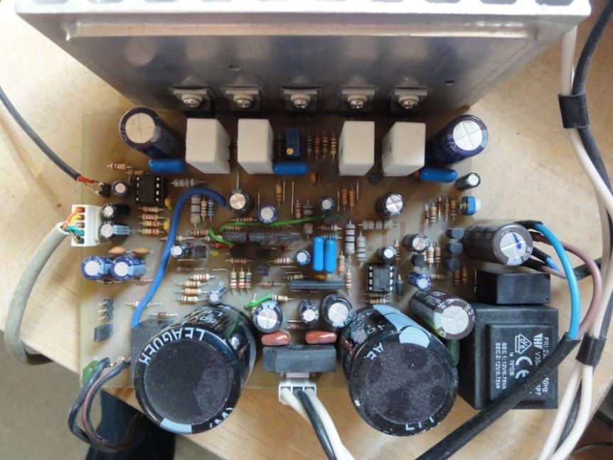 MOSFET усилитель для сабвуфера