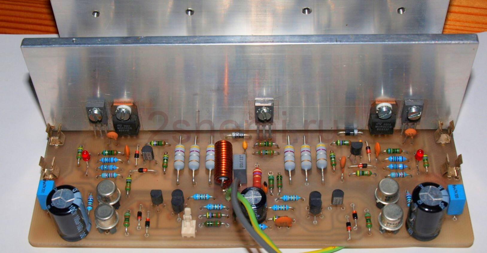 Схема HI-FI усилителя на 500 Вт