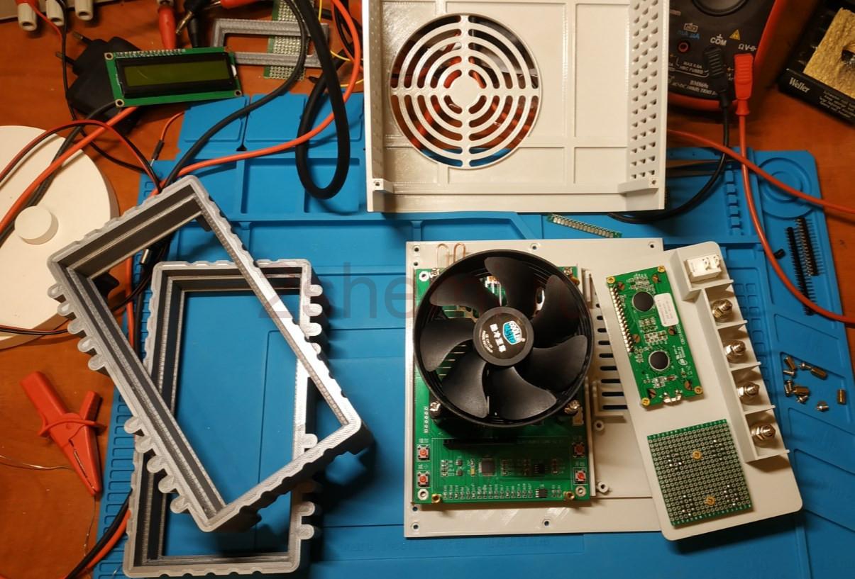Электронная нагрузка с тестером емкости аккумуляторов