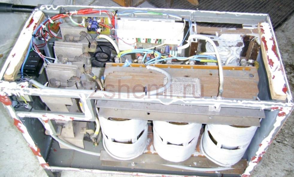 Трехфазный сварочный аппарат на 400 Ампер