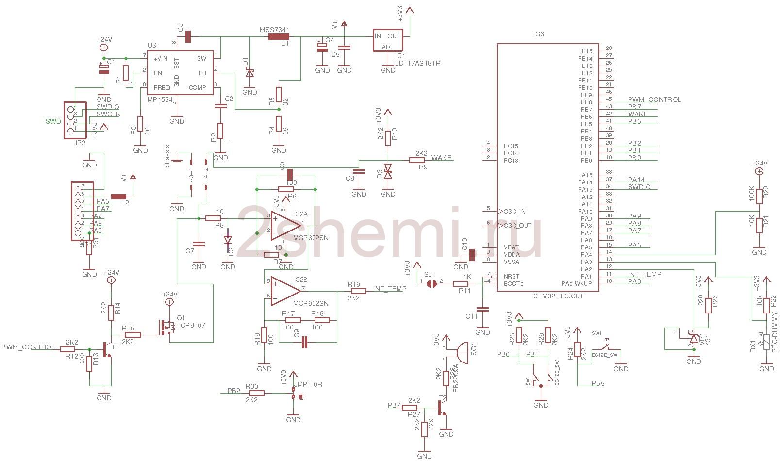 Паяльная станция Т12: схема, сборка, инструкция