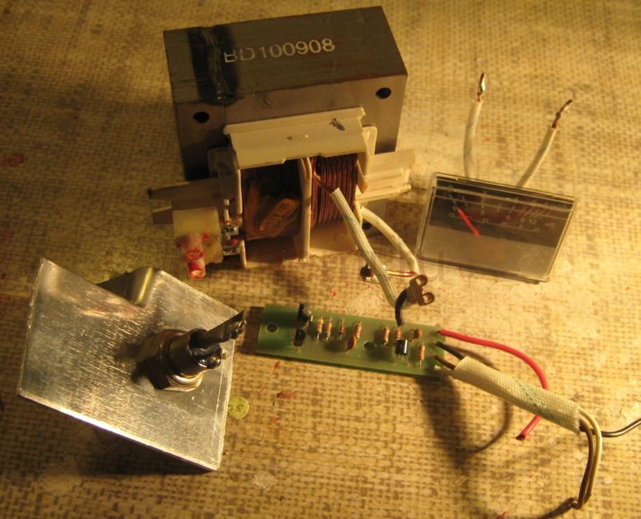Автоматическое зарядное устройство на 6 А своими руками