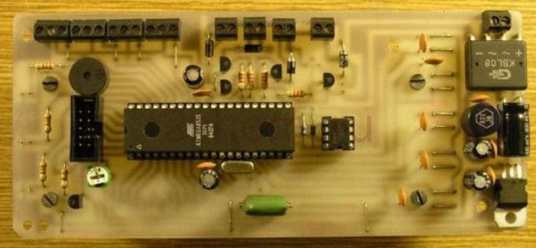 Схема контроллера котла центрального отопления