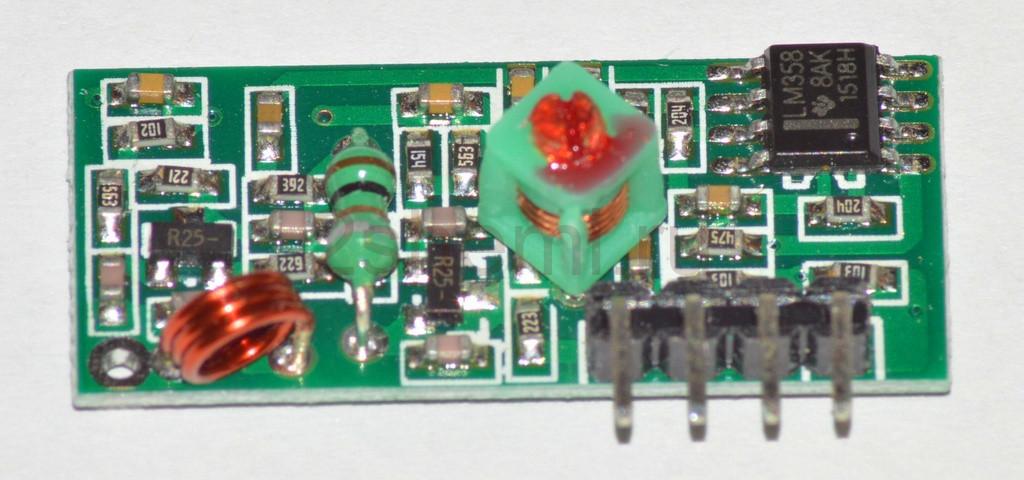 Комплект радиомодулей для обмена данными в диапазоне 433 МГц