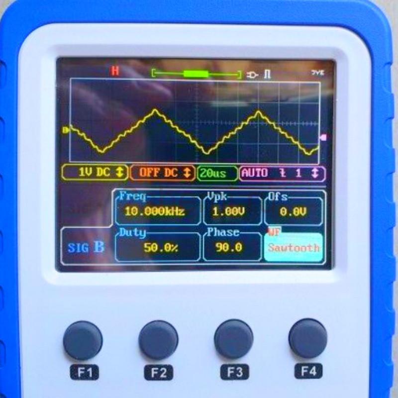 Осциллограф WAVE 2: обзор, сборка и тестирование