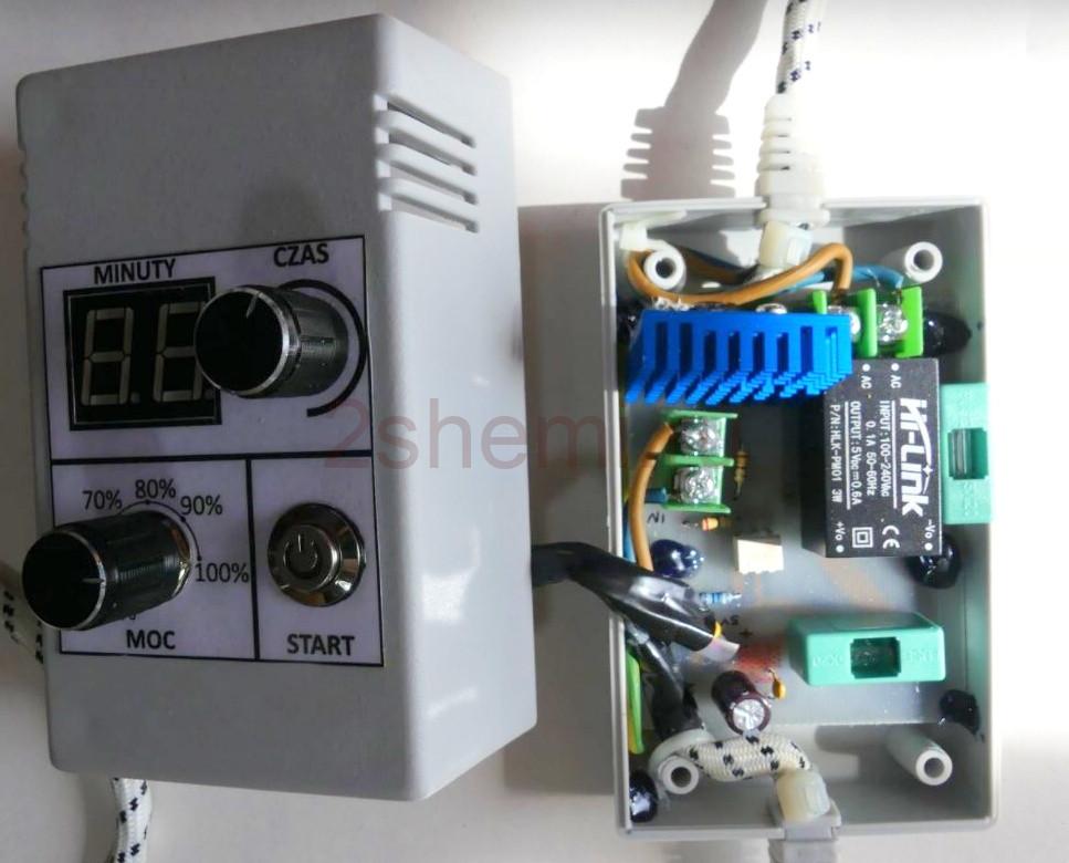 Регулятор температуры с таймером для электродуховки