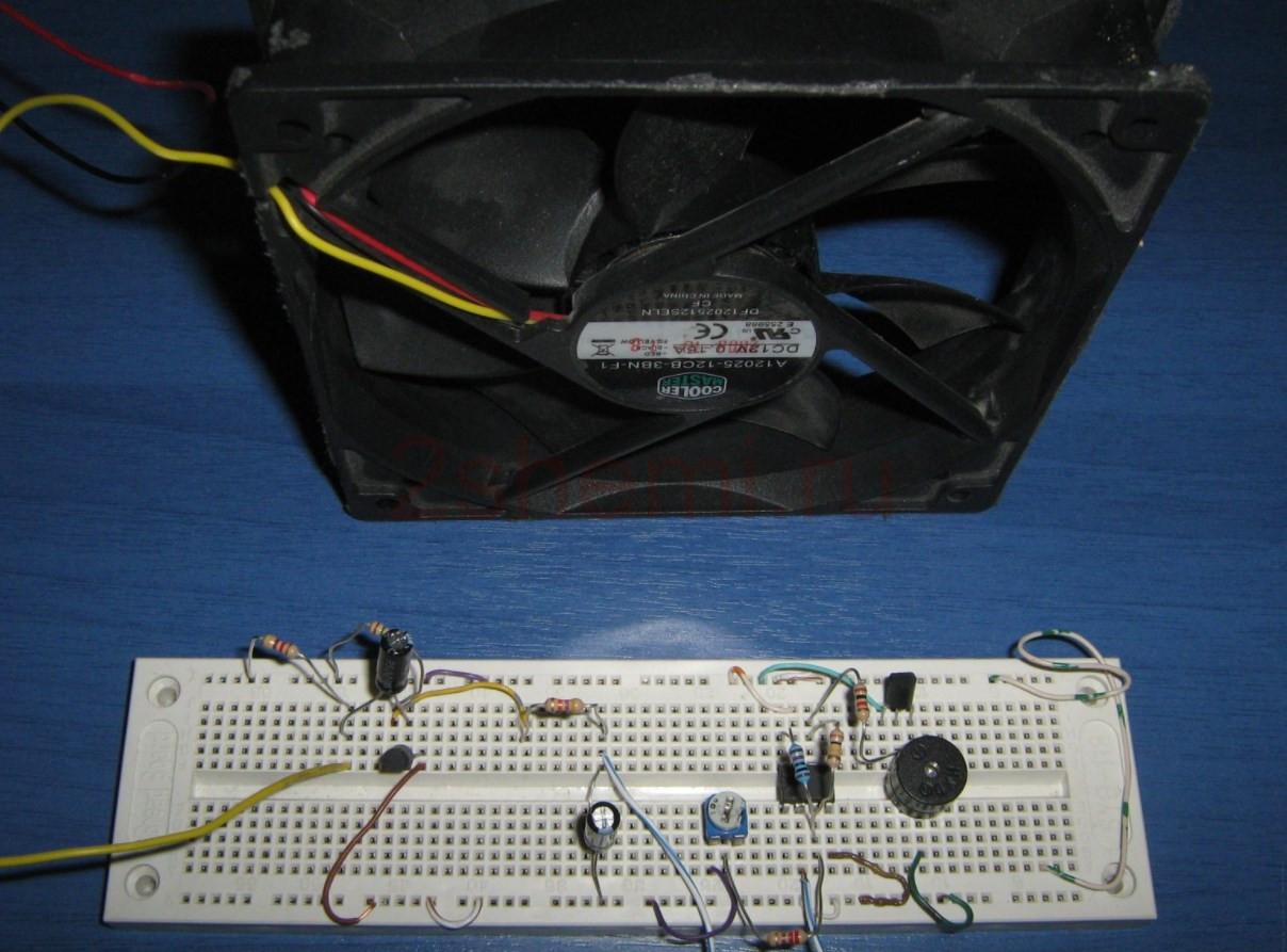Защита от остановки вентилятора при неисправности