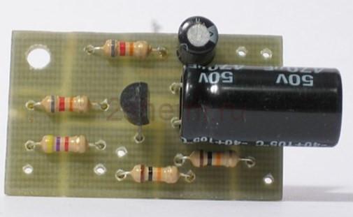 Транзисторный усилитель мощности низкой частоты