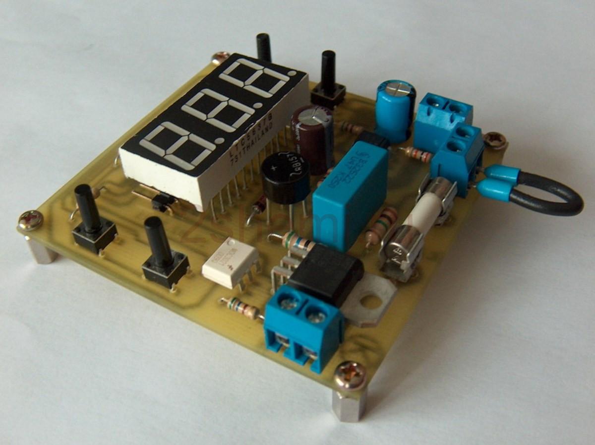 Фазовый регулятор мощности с управлением на МК