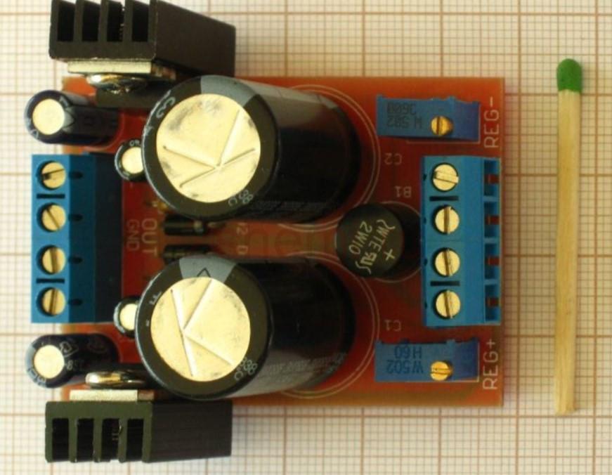 Регулируемые стабилизаторы на LM317 и LM337
