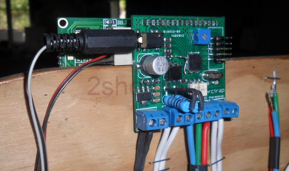 ШИМ регулятор термостата с диммером переменного тока