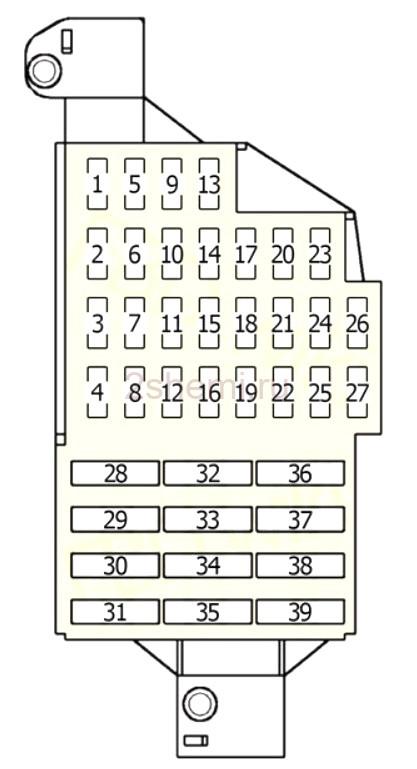 Схема Лада Ларгус