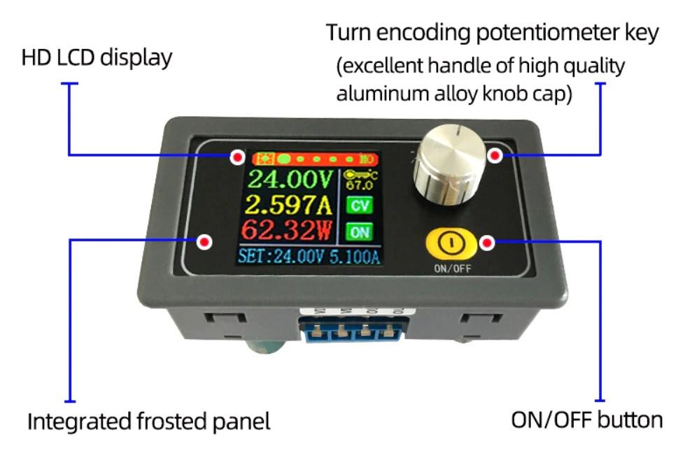 Модульный блок питания с корпусом на 3Д принтере