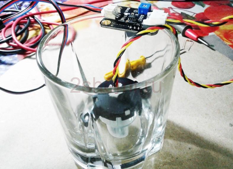 Измеритель мутности воды: схема подключения датчика и тест