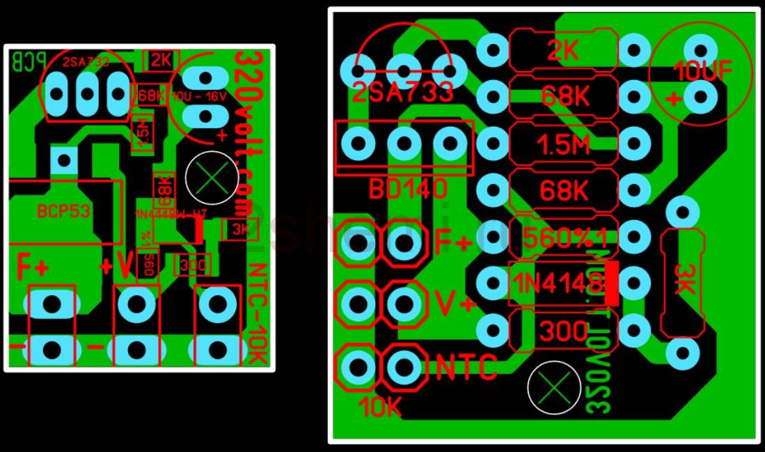 Модуль термоуправления вентилятором охлаждения