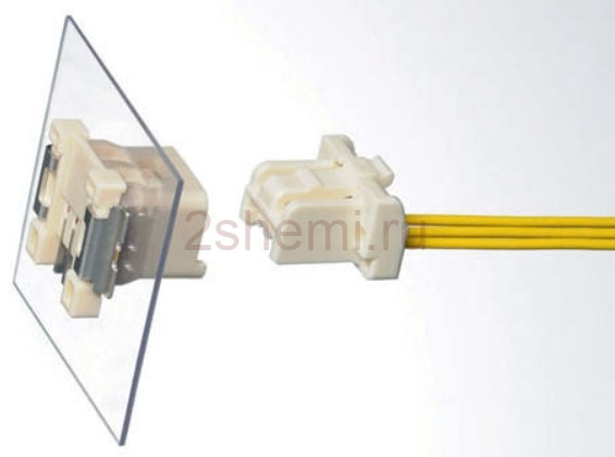 Разъемы для LED освещения: осветительные коннекторы