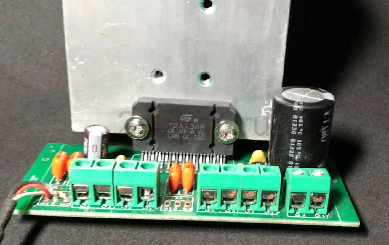Автомобильный усилитель на TDA7850, TDA7388, TA82624, TB2929 и аналогах