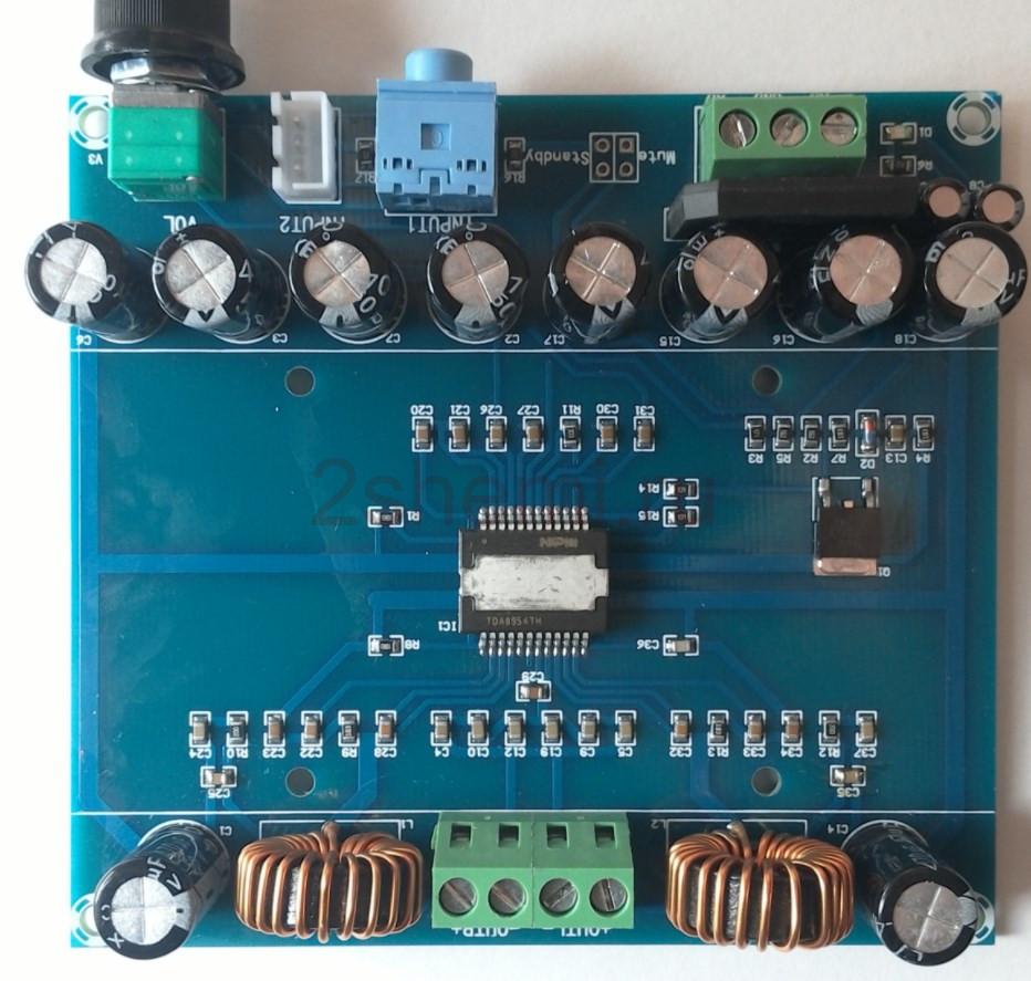 Схема усилителя D-класса 2x 200W на TDA8954TH
