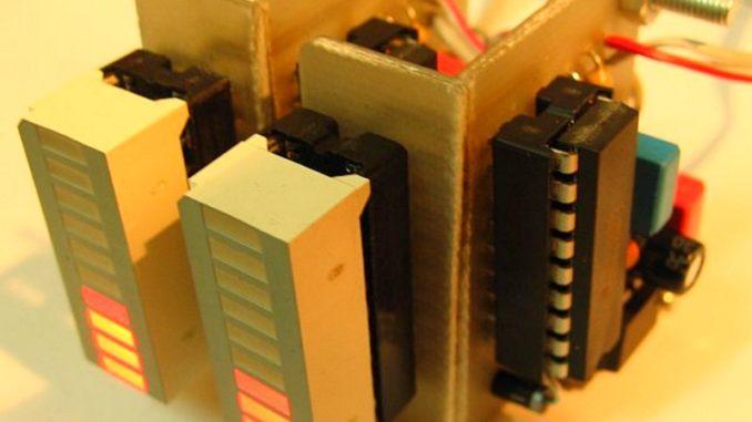 Схема индикатора на светодиодах фото 15