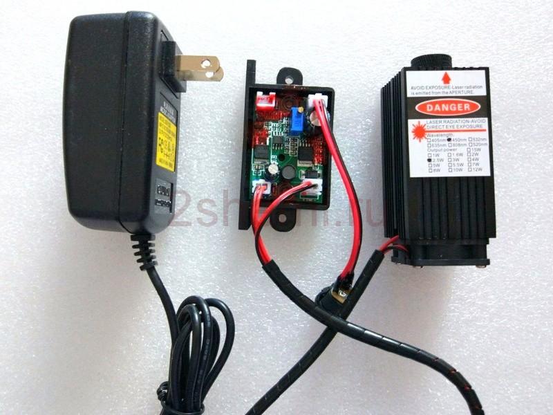Лазерные модули 5, 10 и 15 ватт для резки и гравировки на ЧПУ