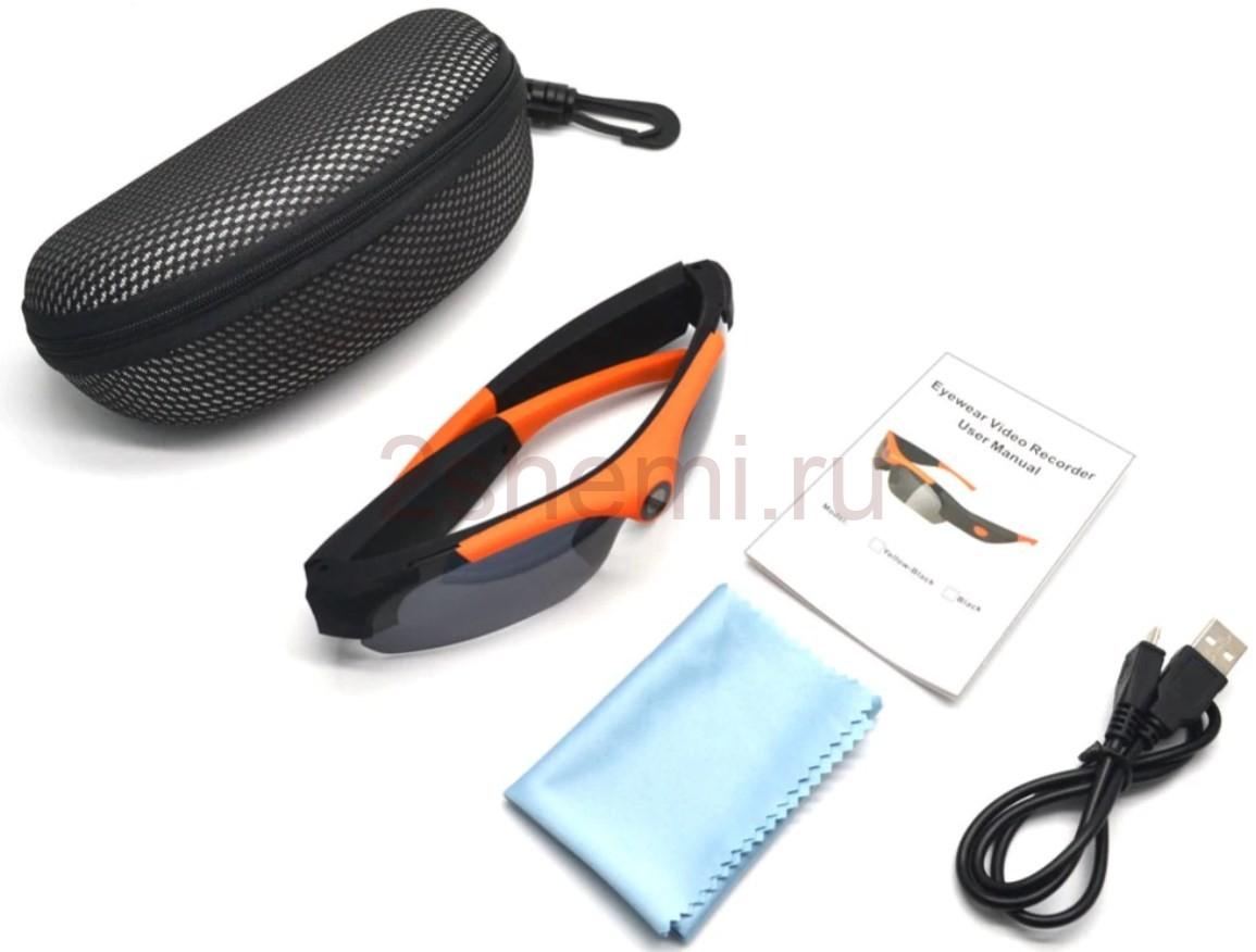 Очки со встроенной видеокамерой и микрофоном: обзор видео-очков