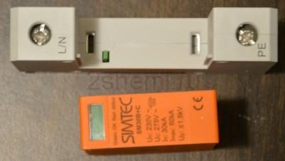 Разрядник на схеме электрической