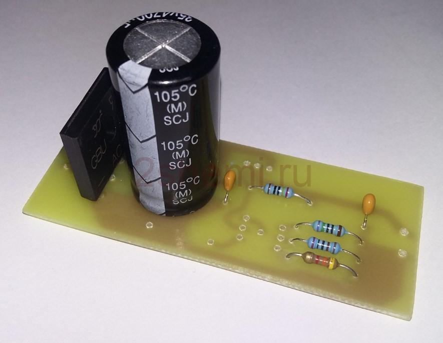 Блок питания переключаемый на напряжения 0-30В, 5В, 12В и 24В