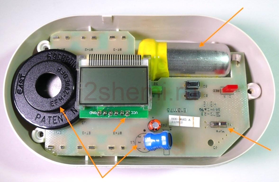 Обзор и разборка детектора угарного газа