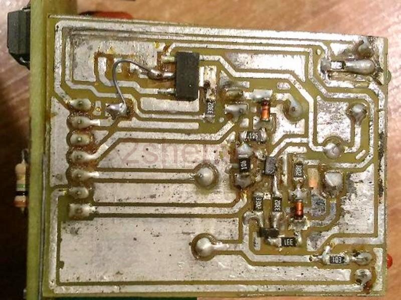 Схема тестера попадания воды в масло двигателя