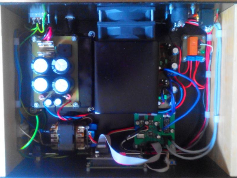 Домашний усилитель звука на микросхемах TDA7294 и TDA8425