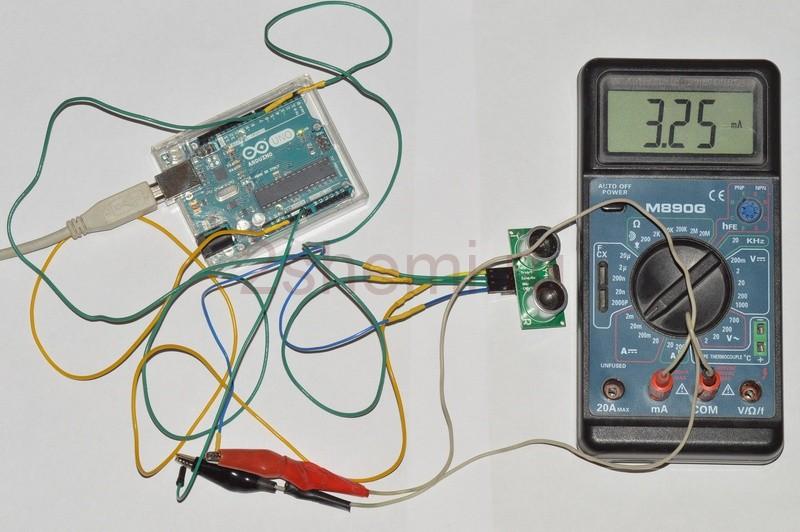 Подключение ультразвукового датчика к Ардуино