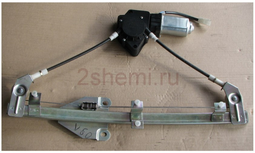 vaz steklopodemnik 16 - Электрическая схема подключения стеклоподъемника