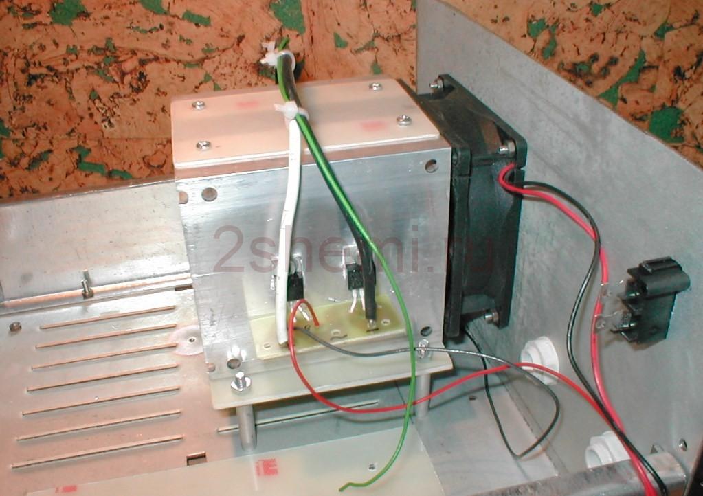 Зарядное для авто аккумуляторов на тиристоре